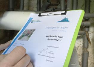 image for Legionella risk management: why paperwork matters and how to improve y