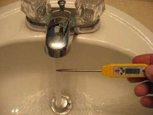 image for How to check water temperatures to control Legionella risk